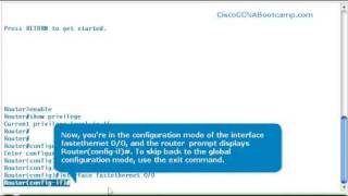 ccna   basic configuration   cisco router cli modes