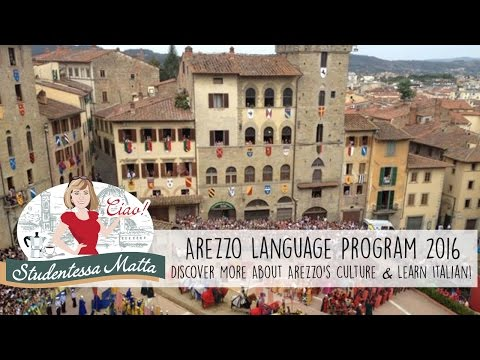 Arezzo italian Language Program 2016