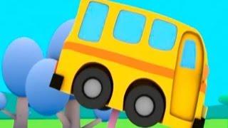 Развивающие мультики для малышей - Руби и Йо-Йо - Автобусная остановка