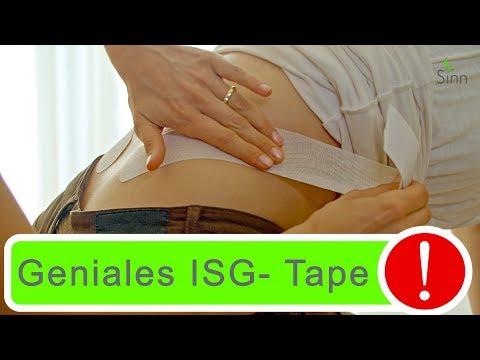 Bestes Tape gegen ISG- Blockade zum Nach-Tapen! Mobilisiert!! Schrittweise Anleitung!