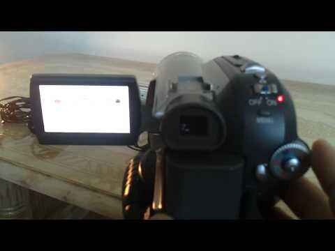 Panasonic mini DV Camcorder NVGS320