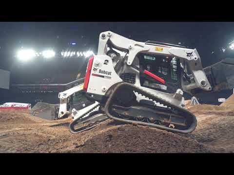 Bobcat At Supercross Paris 2019
