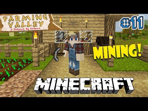 WAKTUNYA MINING - Minecraft Farming Valley Indonesia #11