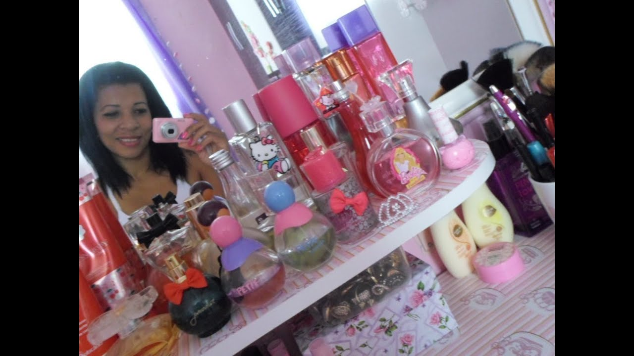 Tour Pelo O Meu Quarto Cor De Rosa ~ Tour) pelo meu quarto cor de rosa  YouTube