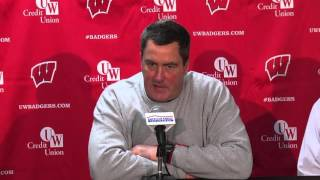 Chryst Postgame Presser vs Northwestern: Turnovers, lack of execution doom Badgers in loss