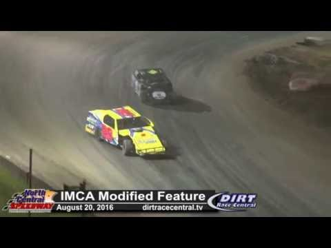 North Central Speedway 8/20/16 IMCA Modified Closing laps