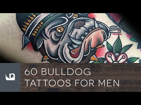 60 Bulldog Tattoos For Men
