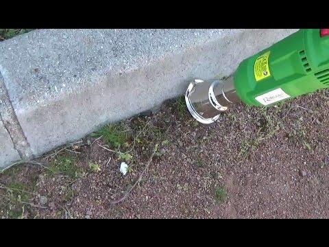 Test du d sherbeur lectrique green power de berthoud doovi - Desherbeur electrique green power ...