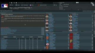 OOTP Baseball 17 -  Full 2016 MLB Season Simulation @ootpbaseball