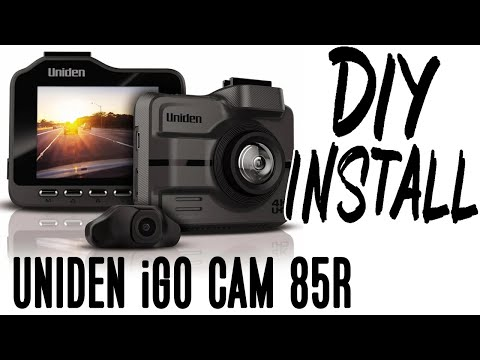 DIY Install Uniden IGO CAM 85R - Front And Rear Car Cameras