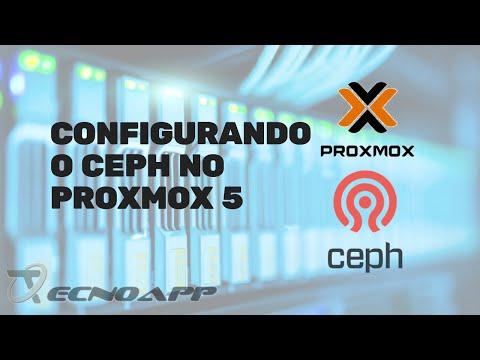Configurando o Ceph no Proxmox 5