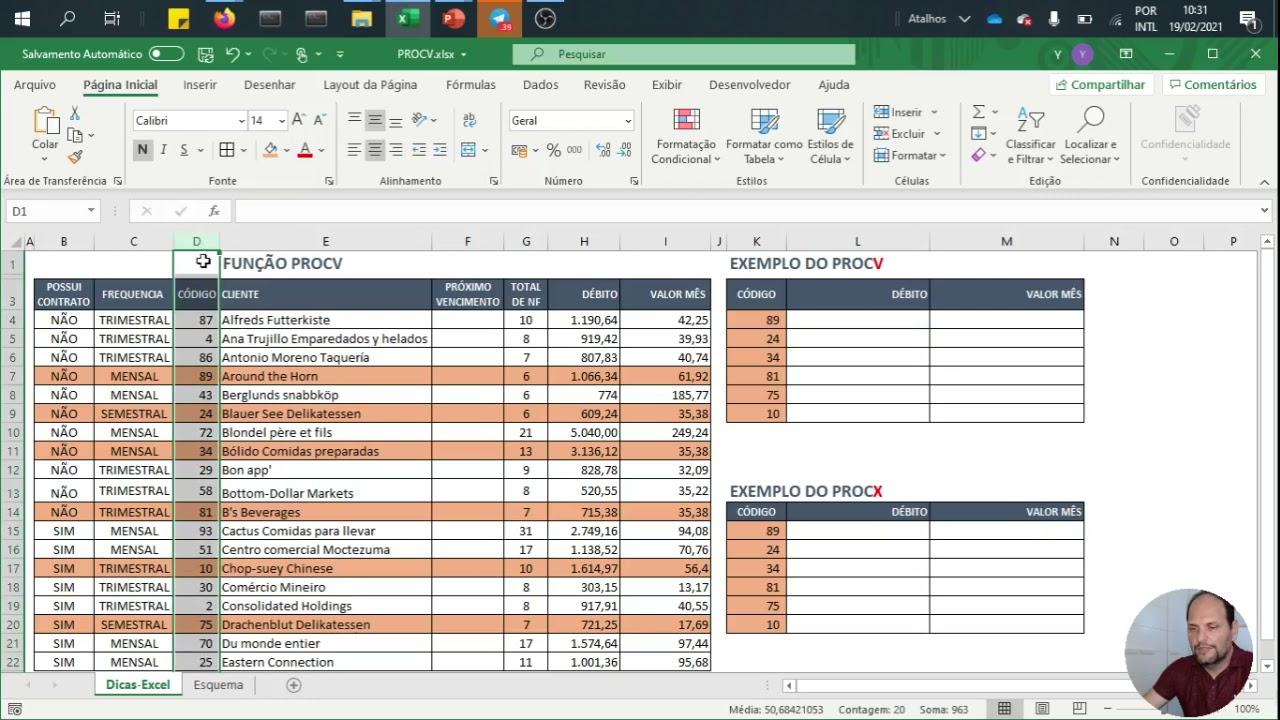 Dominando o PROCV do Excel