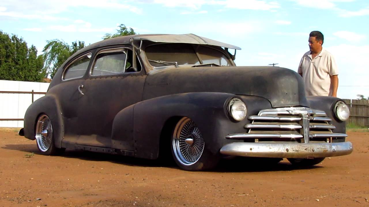 Coupe 1948 chevy stylemaster coupe for sale : 1948 Fleetline Air Ride...Part 4 - YouTube