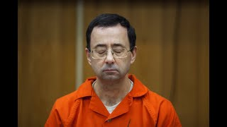 Larry Nassar speaks during his sentencing