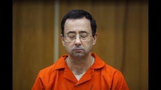 Larry Nassar speaks during his sentencing