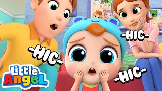 Yes Yes, Baby has the Hiccups! | Little Angel Nursery Rhymes