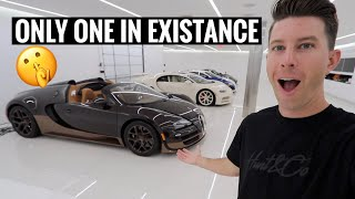 STEALING FROM THE $40 MILLION HYPERCAR BAT CAVE...