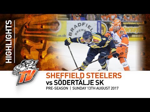 Sheffield Steelers v Södertälje SK - Pre-season - 13th August 2017