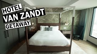 Couples Getaway in Austin, Texas: Hotel Van Zandt