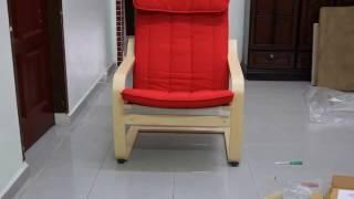 ПОЭНГ - кресло ИКЕА - подробный обзор