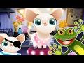Снимаем кино с кошечками и собачками в игре для детей Мисс Голливуд mp3