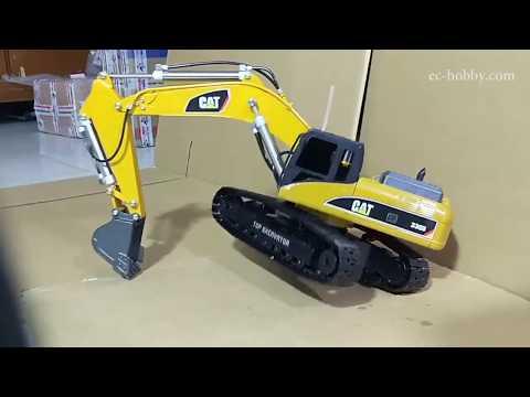 Full Metal, Hydraulic RC Excavator. (Hydraulic Remote Control Excavator Scale Model)