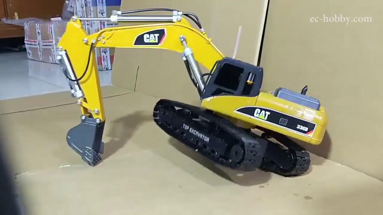 Full Metal, Hydraulic RC Excavator  (Hydraulic Remote Control Excavator  Scale Model)