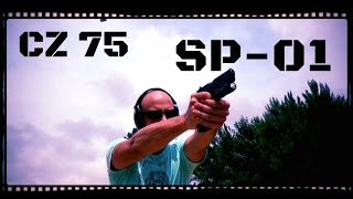CZ 75 SP-01 9mm Full Size Pistol Review (HD)