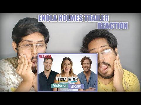 ENOLA HOLMES Trailer (2020) | Henry Cavill, Millie Bobby Brown | Reaction with Brownish Twins