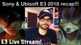 E3 2018 Sony and Ubisoft recap! (BG&E2, StarFox, & more) | Ro2R