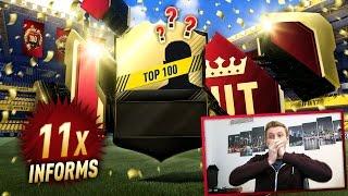 EPIC TOP 100 FUT CHAMPIONS REWARD PACKS!!! FIFA 17 Ultimate Team