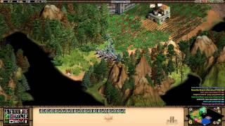 Age of Empires 2 HD The Forgotten - Bari - Arrival At Bari Walkthrough Gameplay