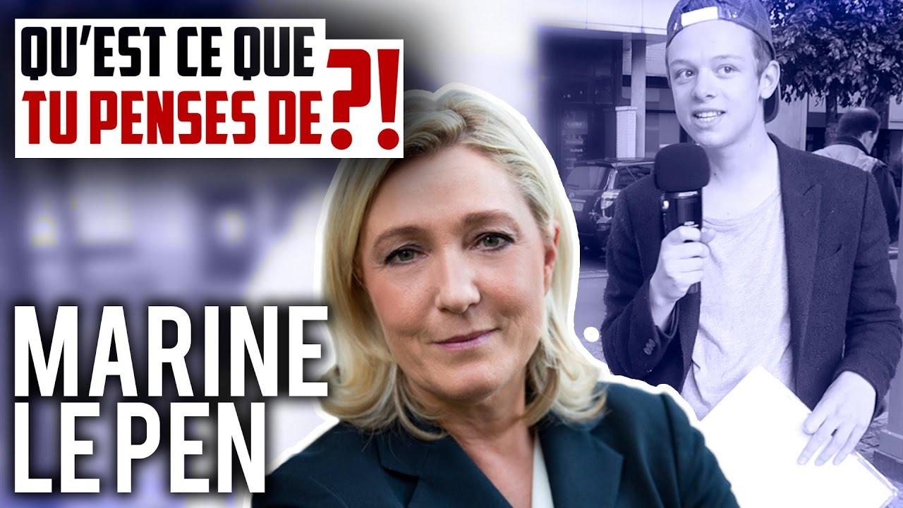 MARINE LE PEN EST-ELLE VULGAIRE !?