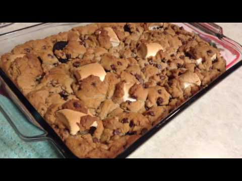 Cookie Dough Oreo Marshmallow Bake || Cooking With Courtney