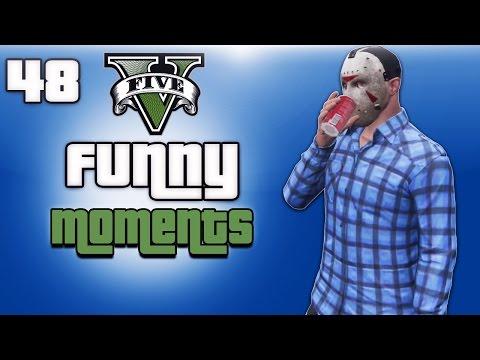 GTA 5 Online Funny Moments Ep. 48 (Coke-Cola Heist, Boat Glitch)