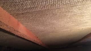 Утепление пола дачного дома из закрытого подвала