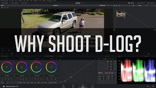Why Shoot D-Log? - DJI Drone Settings Tutorial