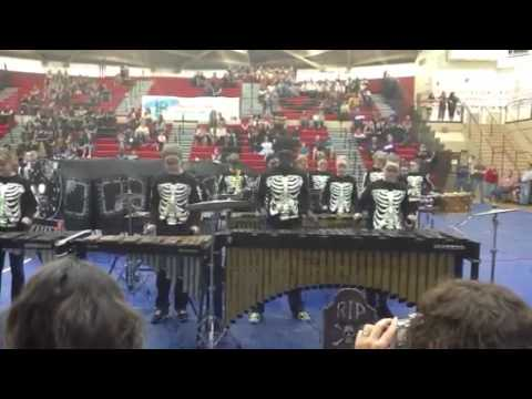 Central Dauphin Middle School Drumline April 28, 2012
