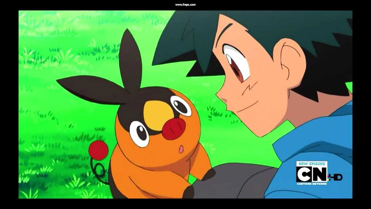 Ash Catches Tepig Youtube