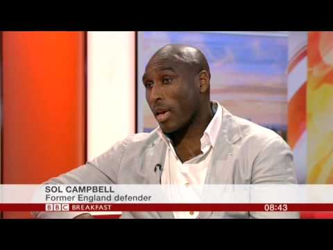 Sol Campbell Interview BBC Breakfast 2014