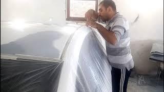 Убрать жучки ржавчины с крышей HYUNDAI ELANTRA Кузовной ремонт в Армении