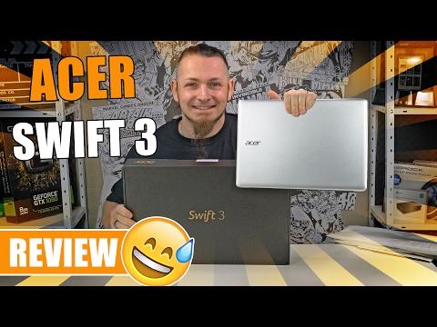 ACER SWIFT 3 💻 Windows Hello und Fingerabdrucksensor [Review, German, Deutsch]