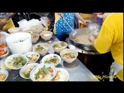 檳城美食素食街咖哩面 Malaysia Penang Vegetarian foods street CURRY MEE - YouTube