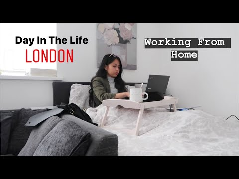 Day In The Life Working From Home | Finance Analyst | London