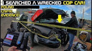 Searching a Wrecked Cop Car Still Cant believe what i found!