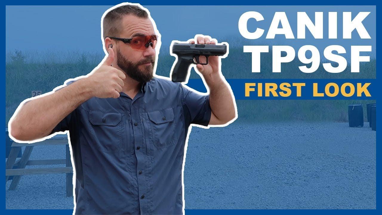Canik TP9SF Review [One Series - 2019] - GunUniversity com