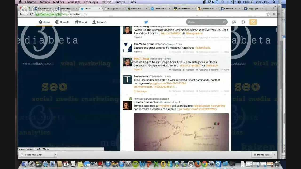 Pillole di WeCa: anatomia di un tweet - YouTube