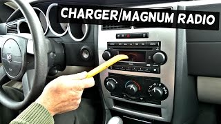 DODGE CHARGER RADIO REPLACEMENT REMOVAL | DODGE MAGNUM