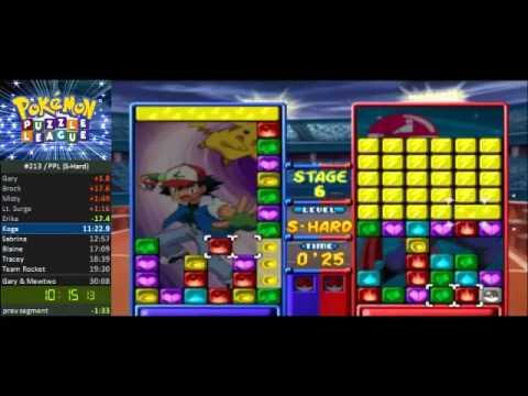 Pokémon Puzzle League Super Hard Speedrun in 23:00