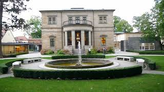 D: Bayreuth. Grave of Richard Wagner and Villa Wahnfried. August 2017